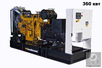 Дизельная электростанция 350 квт BROADCROWN BCV 500 (Генератор 350 квт BROADCROWN BCV 500-50), генератор трехфазный 230/380 вольт.