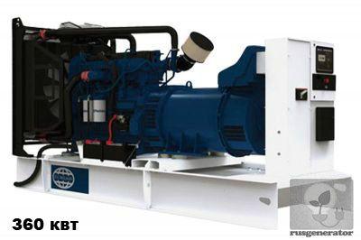 Дизельная электростанция 350 кВт FG WILSON P500-1 (Дизель-генератор 350 квт FG WILSON P500), генератор трехфазный 230/380 вольт.