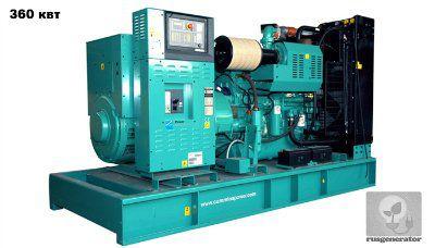Дизельная электростанция 350 квт CUMMINS C500D5E (Дизель-генератор 350 квт CUMMINS C500D5), генератор трехфазный 230/380 вольт.