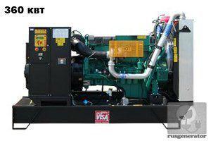 Дизельная электростанция 350 квт ONIS VISA V450 (Дизельный генератор 350 квт ONIS VISA V 450 B), генератор трехфазный 230/380 вольт.