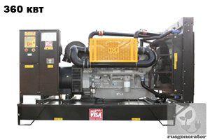 Дизельная электростанция 350 квт ONIS VISA P450 (Дизель-генератор 350 квт ONIS VISA P 450 B), генератор трехфазный 230/380 вольт.