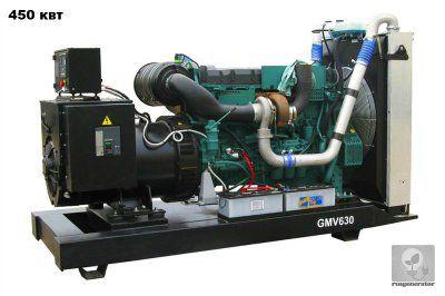 Дизельная электростанция 450 квт GMGEN GMV630 (Дизель-генератор 450 квт GMGEN GMV 630), генератор трехфазный 230/380 вольт.