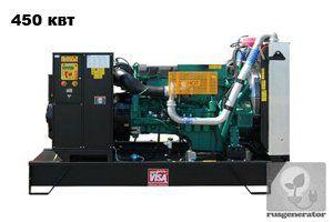 Дизельная электростанция 450 квт ONIS VISA V570 (Дизель-генератор 450 квт ONIS VISA V 570 B), генератор трехфазный 230/380 вольт.