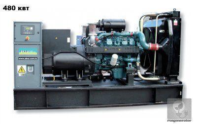 Дизельная электростанция 500 квт AKSA AD660 (Дизель-генератор 400 квт AKSA AD 660), генератор трехфазный 230/380 вольт.