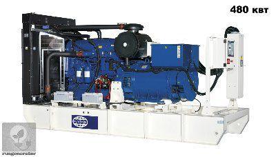 Дизельная электростанция 500 кВт FG WILSON P600P5 (Дизельный генератор 500 квт FG WILSON P660E5), генератор трехфазный 230/380 вольт.