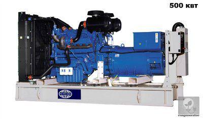 Дизельная электростанция 500 кВт FG WILSON P635P5 (Дизель-генератор 500 квт FG WILSON P700E5), генератор трехфазный 230/380 вольт.