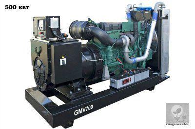 Дизельная электростанция 500 квт GMGEN GMV700 (Дизельный генератор 500 квт GMGEN GMV 700), генератор трехфазный 230/380 вольт.