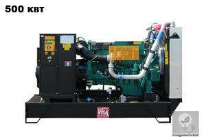 Дизельная электростанция 500 квт ONIS VISA V630 (Дизельный генератор 500 квт ONIS VISA V 630 B), генератор трехфазный 230/380 вольт.