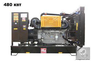 Дизельная электростанция 500 квт ONIS VISA P600 (Дизель-генератор 500 квт ONIS VISA P 600 B), генератор трехфазный 230/380 вольт.