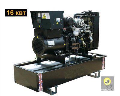 Дизель-генератор 15 квт WELLAND 1WP20 (Дизель-генератор 15 квт WELLAND POWER 1WP 20), электростанция однофазная 220/230 вольт.