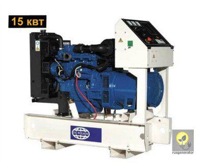 Дизельный генератор 15 квт FG WILSON P16,5 (Электростанция 15 квт FG WILSON P 16,5-4), генератор трехфазный 230/380 вольт.