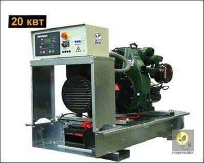 Дизельный генератор 20 квт LISTER PETTER LLD275 (Дизель-генератор 20 квт LISTER PETTER LLD 275 WME350), электростанция трехфазная 230/380 вольт.