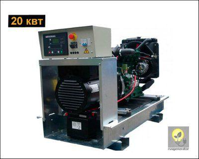 Дизельный генератор 20 квт LISTER PETTER LLD275 (Электростанция 20 квт LISTER PETTER LLD 275 WME150), генератор однофазный 220/230 вольт.