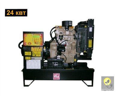 Дизельный генератор 25 кВт ONIS VISA JD30B (Дизельная электростанция 25 квт ONIS VISA JD 30 B), генератор трехфазный 230/380 вольт.