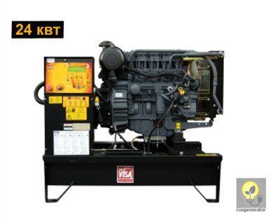 Дизельный генератор 25 кВт ONIS VISA D30B (Электростанция 25 квт ONIS VISA D 30 B), генератор трехфазный 230/380 вольт.