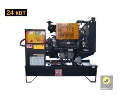 Дизельный генератор 25 кВт ONIS VISA P30B (Дизель-генератор 25 квт ONIS VISA P 30 B), электростанция трехфазная 230/380 вольт.
