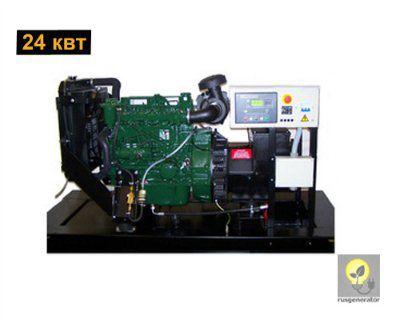 Дизельный генератор 25 кВт LISTER PETTER LLD410 (Дизель-генератор 25 квт LISTER PETTER LLD 410 WLE 350), электростанция трехфазная 230/380 вольт.