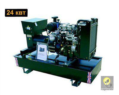 Дизельный генератор 25 кВт WELLAND 1WP30 (Электростанция 25 квт WELLAND POWER 1WP 30), генератор однофазный 220/230 вольт.