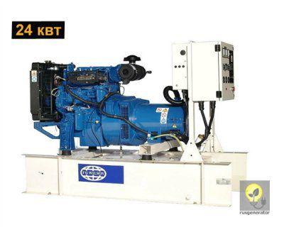Дизельный генератор 25 кВт FG WILSON P33-1 (Дизель-генератор 25 квт FG WILSON P 33-1), электростанция трехфазная 230/380 вольт.