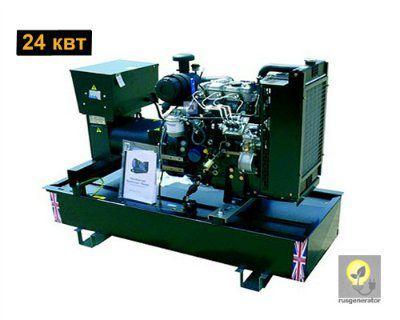 Дизельный генератор 25 кВт WELLAND WP30 (Дизель-генератор 25 квт WELLAND POWER WP 30), электростанция трехфазная 230/380 вольт.