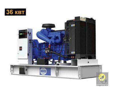 Дизельный генератор 30 кВт FG WILSON P50-1 (Электростанция 30 квт FG WILSON P 50-1), генератор трехфазный 230/380 вольт.