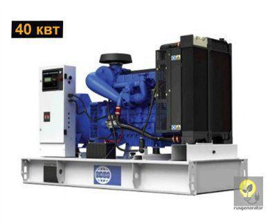 Дизельный генератор 30 кВт FG WILSON P55-1 (Дизель-генератор 30 квт FG WILSON P 55-1), электростанция трехфазная 230/380 вольт.