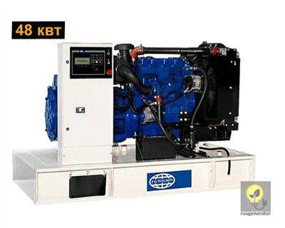 Дизель-генератор 50 квт FG WILSON P65-1 (Электростанция 50 квт FG WILSON P 65-1), генератор трехфазный 230/380 вольт.