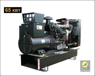 Дизель-генератор 65 квт WELLAND WP80 (Электростанция 65 квт WELLAND POWER WP 80), генератор трехфазный 230/380 вольт.