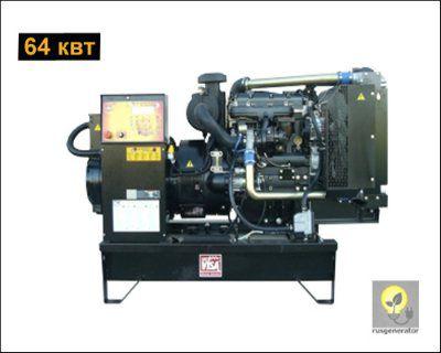 Дизель-генератор 65 кВт ONIS VISA P80B (Дизельная электростанция 65 квт ONIS VISA P 80 B), генератор трехфазный 230/380 вольт.