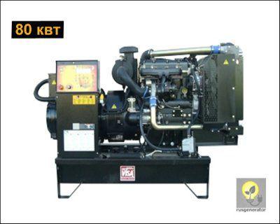 Дизель-генератор 80 кВт ONIS VISA P105 B (Дизельная электростанция 80 квт ONIS VISA P 105 B), генератор трехфазный 230/380 вольт.