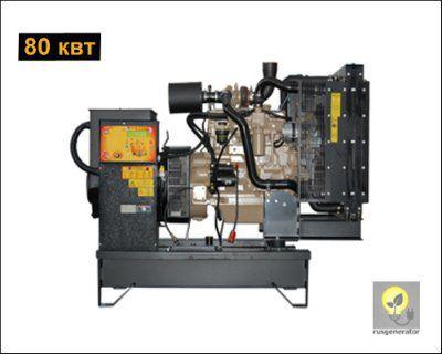 Дизель-генератор 80 кВт ONIS VISA JD100 B (Электростанция 80 квт ONIS VISA JD 100 B), генератор трехфазный 230/380 вольт.