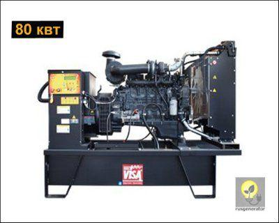 Дизель-генератор 80 кВт ONIS VISA F100 B (Дизельный генератор 80 квт ONIS VISA F 100 B), электростанция трехфазная 230/380 вольт.