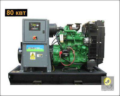Дизель-генератор 80 кВт AKSA AJD110 (Дизельная электростанция 80 квт AKSA AJD 110), генератор трехфазный 230/380 вольт.