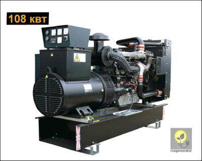 Дизель-генератор 100 квт WELLAND WP135 (Электростанция 100 квт WELLAND POWER WP 135), генератор трехфазный 230/380 вольт.