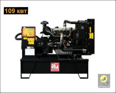 Дизель-генератор 100 квт ONIS VISA P130 (Дизельная электростанция 100 квт ONIS VISA P 130 B), генератор трехфазный 230/380 вольт.