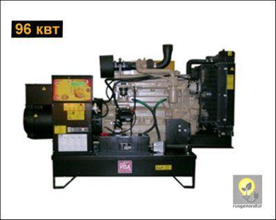 Дизель-генератор 100 квт ONIS VISA JD120 (Электростанция 100 квт ONIS VISA JD 120 B), генератор трехфазный 230/380 вольт.