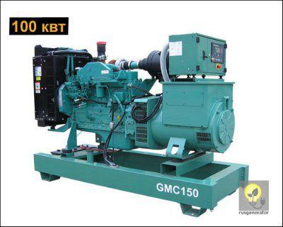Дизель-генератор 100 кВт GMGEN GMC150 (Электростанция 100 квт GMGEN GMC150), генератор трехфазный 230/380 вольт.
