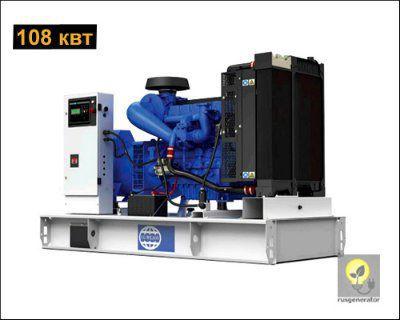 Дизель-генератор 100 квт FG WILSON P150-1 (Электростанция 100 квт FG WILSON P 150-1), генератор трехфазный 230/380 вольт.
