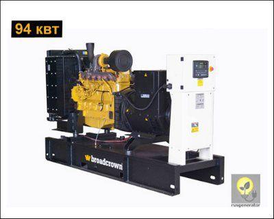 Дизель-генератор 100 квт BROADCROWN BCJD 130 (Электростанция 100 квт BROADCROWN BCJD 130-50), генератор трехфазный 230/380 вольт.