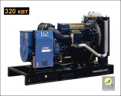 Дизельная электростанция 300 кВт SDMO V440C2 (Дизельный генератор 300 квт SDMO ATLANTIC V440C2), генератор трехфазный 230/380 вольт.