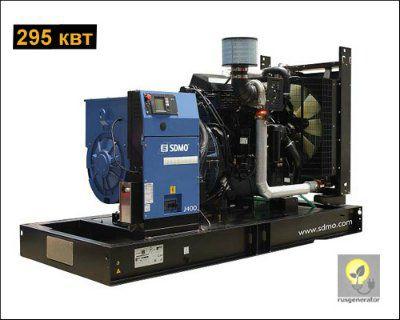 Дизельная электростанция 300 кВт SDMO J400K (Дизель-генератор 300 квт SDMO MONTANA J400K), электростанция трехфазная 230/380 вольт.
