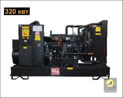 Дизельная электростанция 300 кВт ONIS VISA JD400 (Дизельный генератор 300 квт ONIS VISA JD 400 B), генератор трехфазный 230/380 вольт.