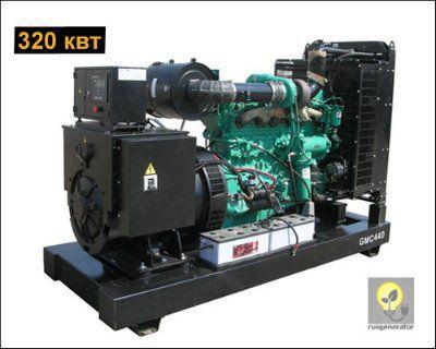 Дизельная электростанция 300 кВт GMGEN GMC440 (Генератор 300 квт GMGEN GMC 440), генератор трехфазный 230/380 вольт.