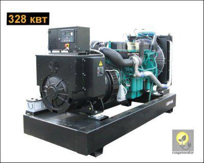 Дизельная электростанция 300 квт GMGEN GMV440 (Дизель-генератор 300 квт GMGEN GMV 440), генератор трехфазный 230/380 вольт.
