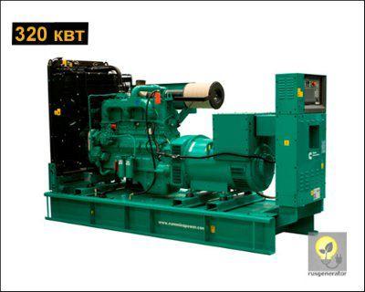 Дизельная электростанция 300 квт CUMMINS C440D5 (Дизель-генератор 300 квт CUMMINS C 440D5), генератор трехфазный 230/380 вольт.