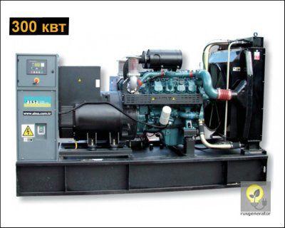 Дизельная электростанция 300 квт AKSA AD410 (Дизель-генератор 300 квт AKSA AD 410), генератор трехфазный 230/380 вольт.
