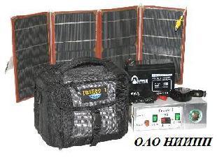 """Автономный универсальный источник питания с солнечной батареей """"ГЕЛИОС 1"""""""