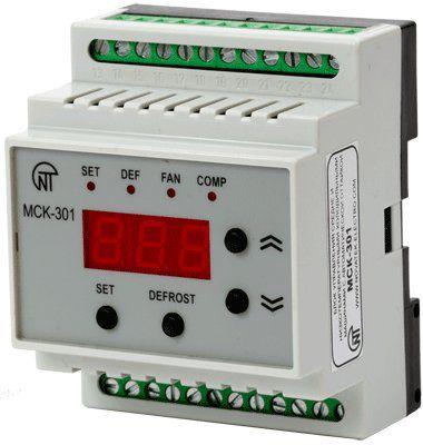 Блок управления средне-низкотемпературными холодильными машинами МСК-301-8