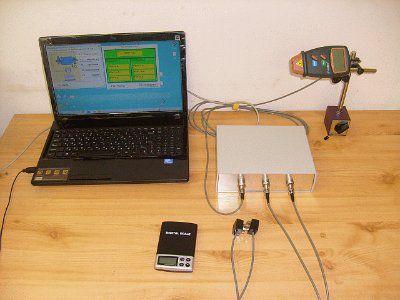 Прибор  для  балансировки вентиляторов, центрифуг, роторов  Балком-1 (динамическая балансировка)