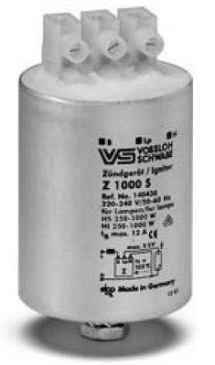 Импульсное зажигающее устройство (ИЗУ, игнитор, IGNITOR) Z 1000 L 140471 для натриевых ламп высокого давления (HS, ДнАТ), металлогалогенных ламп (HI, МГЛ) мощностью 150 - 1000 Вт. Vossloh-Schwabe (Германия)